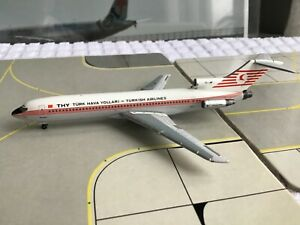 AeroClassics THY Turkish Airlines  boeing 727, 1:400 Scale