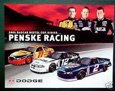 Wallace~Newman~Gaughan Nascar Dodge Car Promo Poster AD