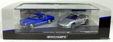 MINICHAMPS 1/43 - 402 902010 VW KARMANN GHIA COUPE 1955 + PORSCHE 911 TURBO 2010