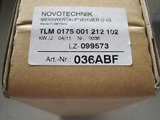 Nuovo Sigillato Novotechnik Tlm 0175 001 212 102 Trasduttore #036ABF