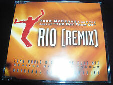 Todd McKenny Rio Rare Australian Remixes CD Single New