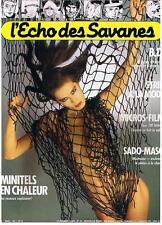 L'ECHO DES SAVANES NOUVELLE SERIE N° 24 1985 TRES BON ETAT