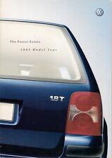 Volkswagen Passat Estate 2002-03 UK Market Sales Brochure S SE Sport V5 V6 W8