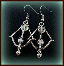 Bow and Arrow Earrings Jewelry - INDIAN style Florida State Seminoles FSU theme