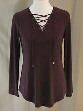 Worthington, Small, Laredo Red Herringbone Top, New with Tags