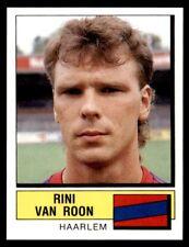 Panini Voetbal 88 (Nederland) Rini van Roon Haarlem No. 166