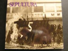 SEPULTURA  REFUSE/ RESIST... CD SINGLE