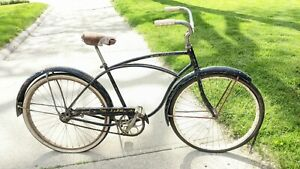 "Barn Find 1957? 26"" SCHWINN SPITFIRE MENS VINTAGE BICYCLE PANTHER TYPHOON HORNET"