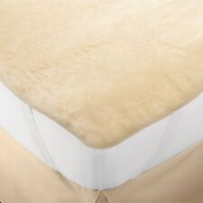 Mattress Pad FULL WOOL ELITE Snugfleece Bed Top USA Chemical Free Hypo Allergen