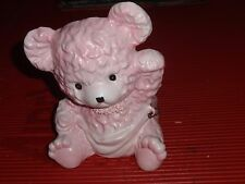 VINTAGE 1964 SAMSON BABY PLANTER PINK TEDDY BEAR IN DIAPER