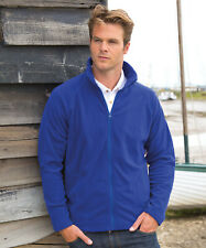 Result Microfleece Jacket Top Zip Pockets Easycare Fast Dry Thermal  (R114X)