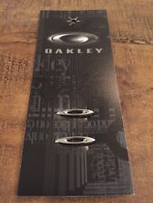 New Oakley Racing Jacket Chrome O Icons Replacement Kit