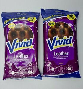 80 Vivid Leather Wipes Furniture Footwear Clothing Bags