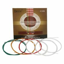 IRIN C105 Classical Guitar Strings Nylon Core Colorful Coated Copper Alloy Wound