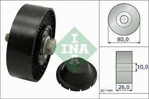 Deflection/Guide Pulley Fits BMW 1/3/5/6/7 Series X1/X3/X5/Z4 Petrol Engines INA