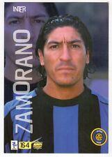 Figurina MUNDI MC CARDS numero 164 INTER ZAMORANO