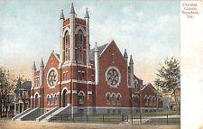 c.1908 Christian Church Texarkana TX post card