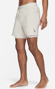 Nike Yoga Shirts Light Bone XL-Tall Xtra Large Tall Tan. BRAND NEW WITH TAGS