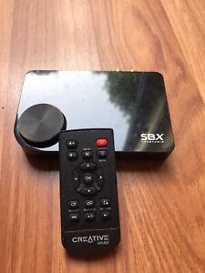 Creative Sound Blaster X-Fi Surround 5.1 External USB Computer Audio Card SB1095