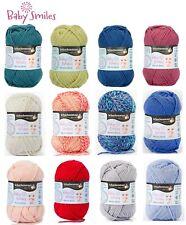 (11,96€/100g) Uni & Co Schachenmayr 👶 Baby Smiles Merino Wool Wolle stricken