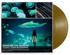 New listing BRING ME THE HORIZON Count Your Blessings (SEALED) GOLD VINYL LP slipknot attila