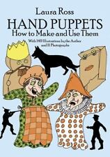 Hand Puppets: How to Make and Use Them (Dover Craft Books)-ExLibrary