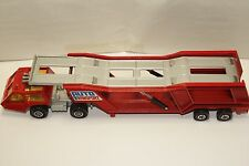 ORIGINAL Matchbox - Super Kings - K-10 - Car (Auto) Transporter - Red Color