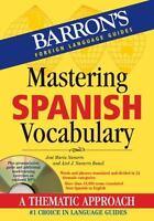 Mastering Spanish Vocabulary with Audio MP3 [Mastering Vocabulary Series]