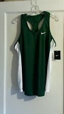 Women's Nike Running Singlet  Green/White Size XL New With Tag