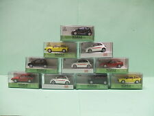 FIAT 500  VW SCIROCCO 1970 JAUNE ou ROUGE HO 1/87 NOREV