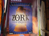 ZORK GRAND INQUISITOR ORIGINAL VIDEO GAME PROMO ACTIVION POSTER