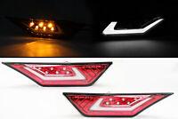 JDM Red Lens Dual Function DRL + Side Marker Light For 16-20 Honda Civic Type-R
