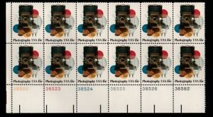 ALLY'S STAMPS US Plate Block Scott #1758 15c Photography [12] MNH F/VF [A]