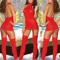 Women Lace Sexy / Sissy Lingerie Babydoll G String Thong Nightwear Underwear