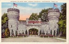 ENTRANCE TO POINT PARK, LOOKOUT MOUNTAIN. CHATTANOOGA, TN erected in 1905