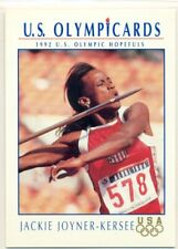 U.S. OLYMPICARDS-1992-TRACK AND FIELD -INSERT TRADING CARD -JACKIE JOYNER-KERSEE