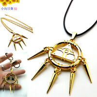 US Yu-Gi-Oh! Yugi Muto's Millenium Puzzle Key Chain Cosplay Pendant Necklace