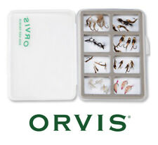 ORVIS SUPER SLIM VEST FLY BOX. 8 Compartments with Magnetic Base