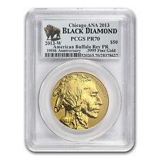 2013-W 1 oz Reverse Proof Gold Buffalo PR-70 PCGS (ANA) - SKU #79564