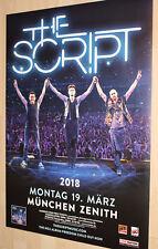 The Script Tourplakat/Tourposter 2018  -NEU - München Zenith