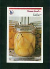 Altes Faltblatt Kölner Zucker Einmachzucker Rezepte Pfeifer & Langen Fotos 1970