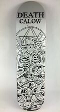 """Calow Death Skull Pro deck - Death Skateboards 8.5 """" with grip"""