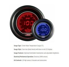 Genuine Prosport Evo 52mm Red Blue Gauge Water Temp Temperature Deg C
