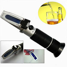 0~32% Brix Wort SG Refractometer Sugar Wine Beer Fruit Juice Baume Honey New