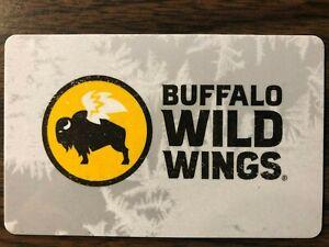 Buffalo Wild Wings Gift Card $100 Value. Free Shipping!