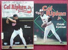 CAL RIPKEN, JR. (BALTIMORE ORIOLES) 2 BOOKS, 1993, 1996