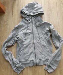 Lululemon Athletica Scuba Full Zip Hoodie Hoody Sweatshirt Jumper UK 10 US 6