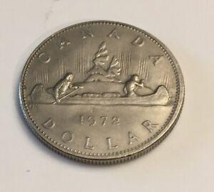 1972 - Canadian  One Dollar Nickel Coin