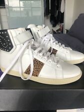 YSL Saint Laurent sneakers White Bootie  Size 41 Brand New In Box