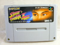 Super Famicom STREET FIGHTER II 2 TURBO Nintendo Cartridge Only sfc
